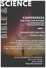 Bible & Science «la vie sur terre: création intelligente»