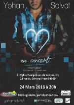 Yohan Salvat en concert