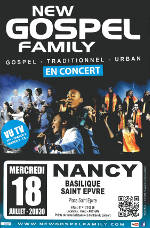 New Gospel Family en concert