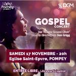 Concert gospel à Pompey avec l'«Alsace Gospel Choir»